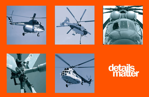 Spares supply for russian helicopters Mi-8, Mi-17, Mi-26, Ka-32, Ka-226 and aircrafts Il-76